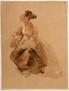 A Seated Young Woman