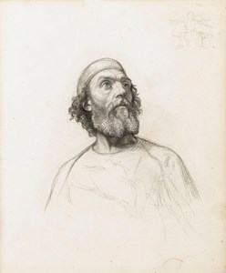 Study of a Bearded Man