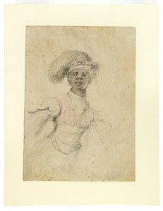 Study of a Moor with Arms Outstretched