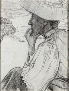 Portrait of Mme. Gabrielle Wenger at Camaret-sur-Mer [recto]; Portrait of the Seaman Piriou [verso]