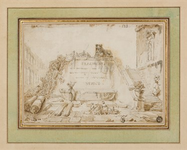 Laundresses at a Fountain: Design for a Frontispiece