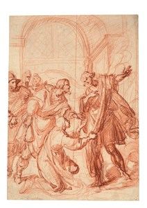 The Archangel Raphael Refusing Tobias's Gift