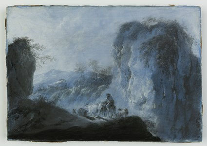 Pastoral Landscape with Herdsmen and Cattle