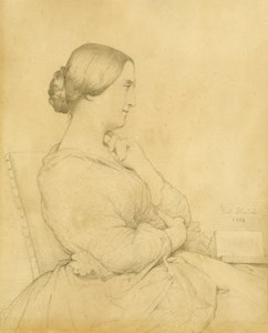 A Seated Woman with a Book