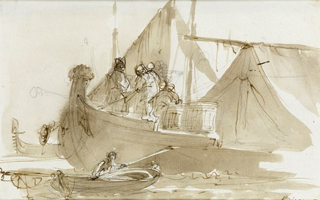 Venetian Shipping Scene
