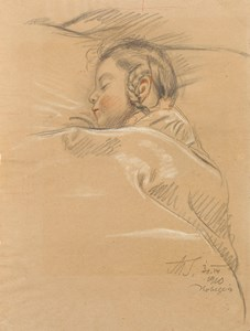 Study of a Sleeping Girl