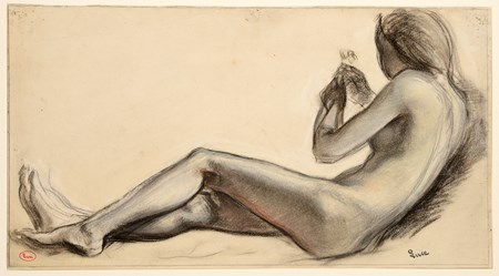 Study of a Nude Bather