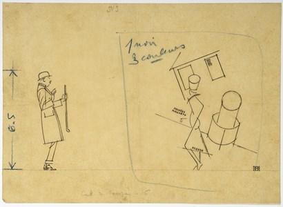Man Confronted by Cubism (La peinture absolue)