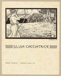 Silvia Cacciatrice: An Illustration for Torquato Tasso's Aminta