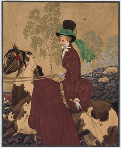 Sidesaddle: Design for the Cover of Vogue
