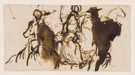 Studies of Arab Horsemen