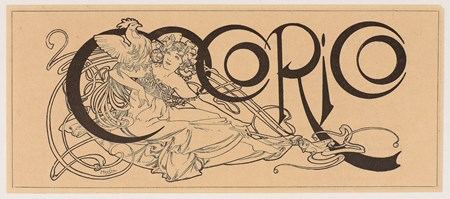 A Woman with a Cockerel: Design for the Title of the Magazine Cocorico