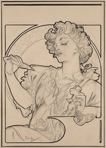 Lance Parfum 'Rodo': Study for an Advertising Poster