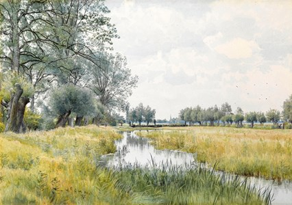 River Landscape near St. Ives, Huntingdonshire