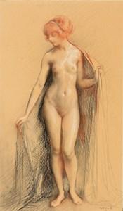 A Standing Female Nude (Primavera)