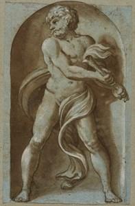 Pluto, after Polidoro da Caravaggio