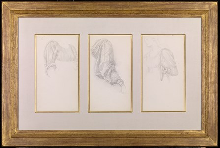 Three Studies for The Golden Stairs