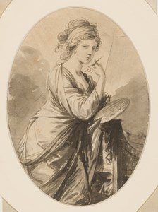 Portrait of Angelica Kaufmann