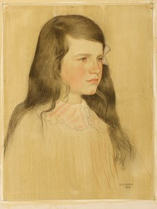 Portrait of the Artist's Daughter, Nancy Strang