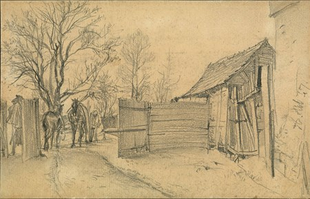 A Farmstead near Kassel
