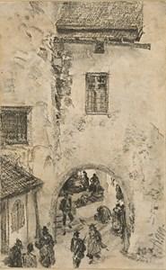The Porta San Michele in Bressanone