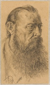 The Head of a Bearded Man, Facing Right