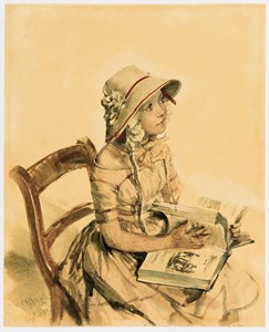 Portrait of Fraulein Hanna Maercker