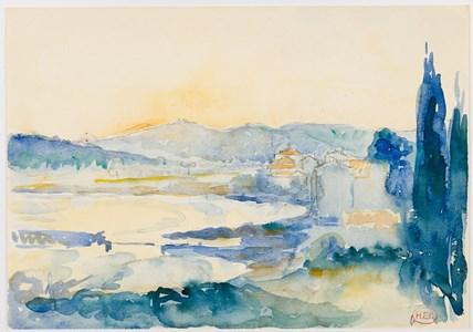 View of Le Lavandou
