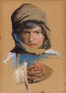 The Head of an Algerian Youth