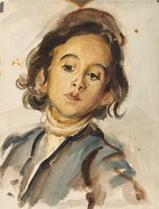 Portrait of the Artist's Son, Edmond Dehodencq