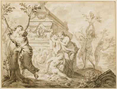 The Sisters of Phaeton Transformed into Poplars