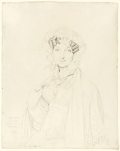 Portrait of Marie-Anne-Adélaïde Balze, Mme. Joseph Balze