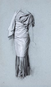 A Standing Draped Figure
