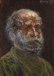 The Head of a Bearded Man