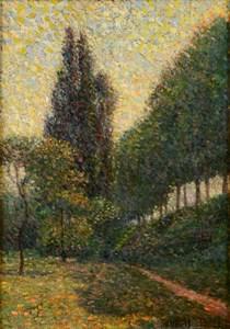 Landscape at La Grande Jatte (Pré en contre-bas)