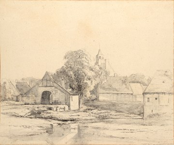 A View of Neuenhaus, near Bentheim