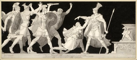 A Centurion Begging for Protection from Marc Antony during a Seditious Revolt