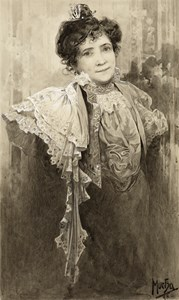Portrait of Marie-Louise Gagneur