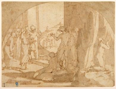 Judith Preparing to Visit Holofernes
