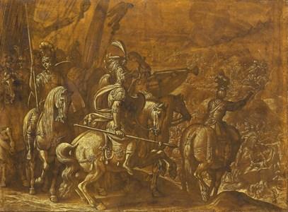 A Battle Scene