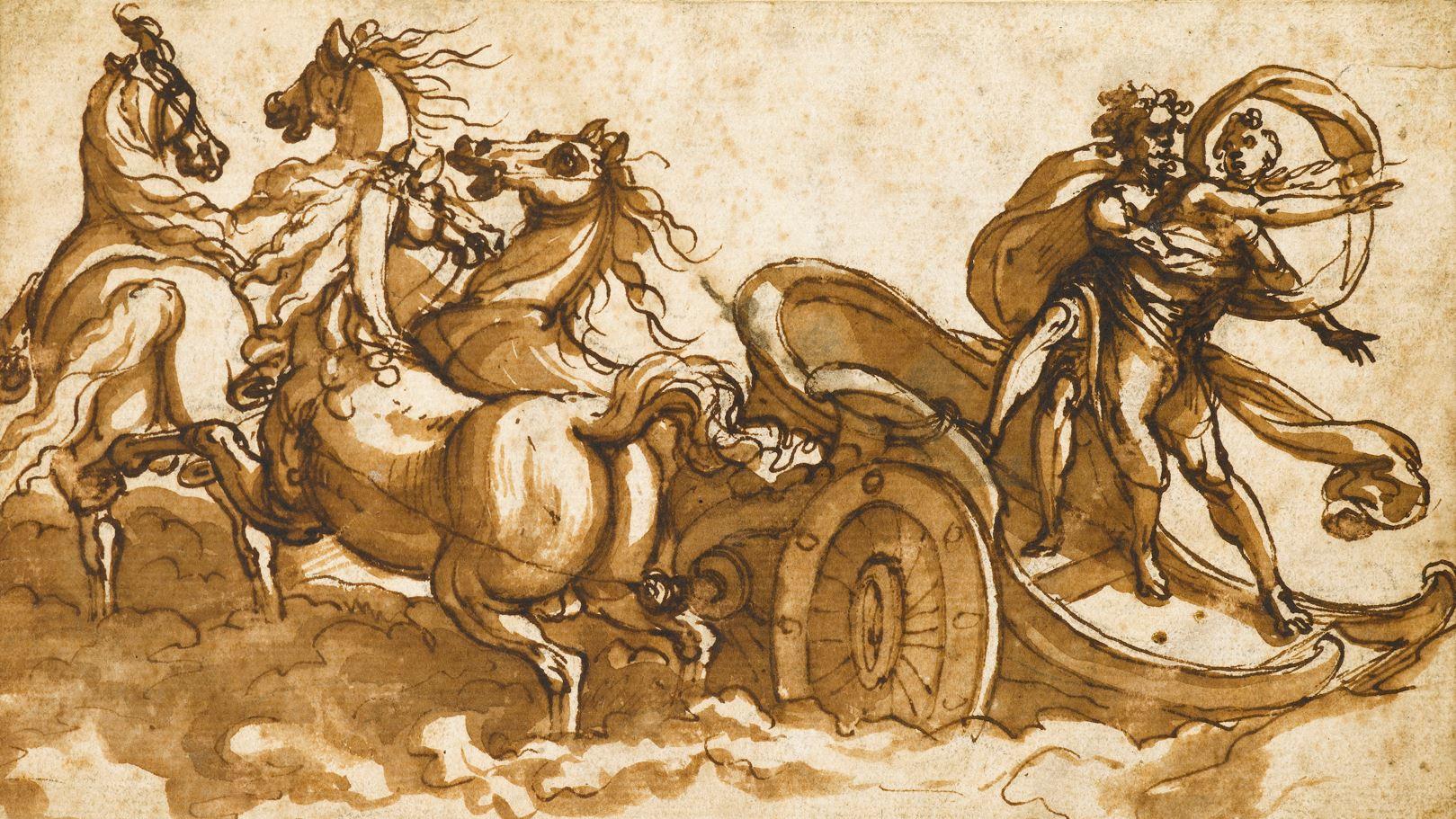 Antonio TEMPESTA | The Abduction of Persephone