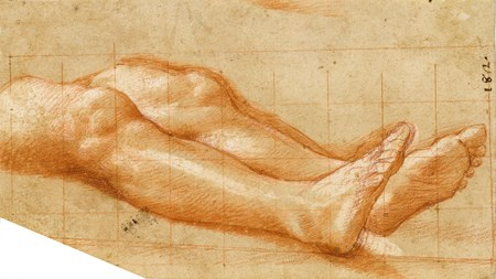 Study of Legs [recto]; Study for a Saint Sebastian [verso]