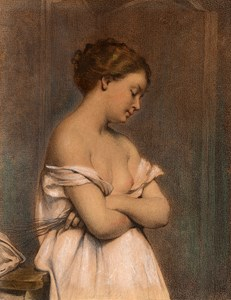 A Young Girl: Study for L'Amour vaincu