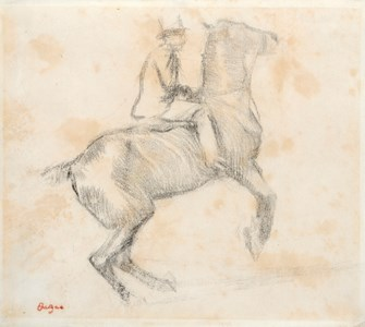 Horse and Rider (Cheval se cabrant (La courbette))