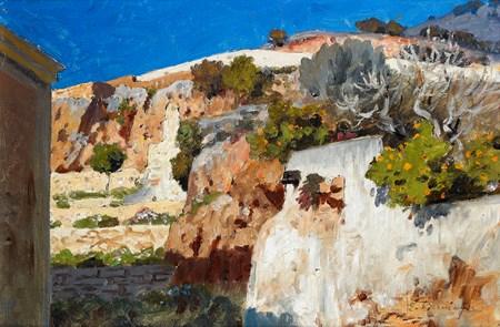 Landscape in Capri