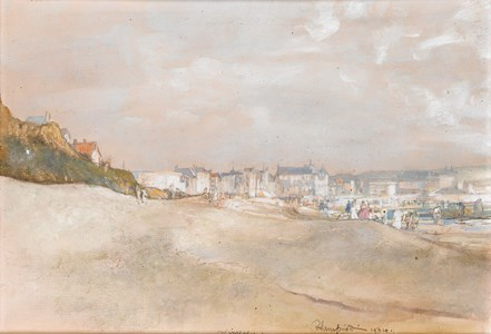 The Dunes at Wimereux, Normandy