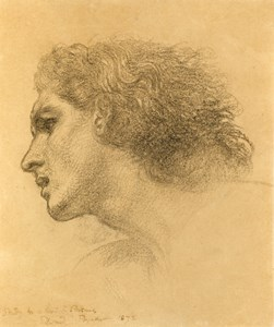 Study for the Head of Perseus