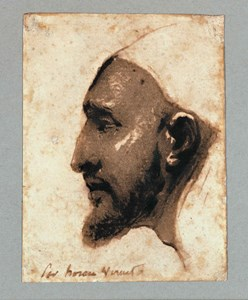 The Head of an Arab Man