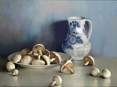Still Life with Mushrooms and a Pitcher (Les Champignons)