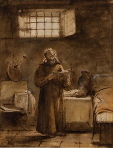 A Monk in his Cell